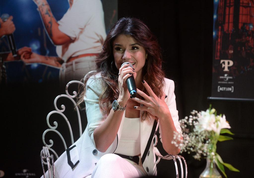 Paula Fernandes apresenta seu DVD Origens, em São Paulo (Foto: Francisco Cepeda/AgNews)