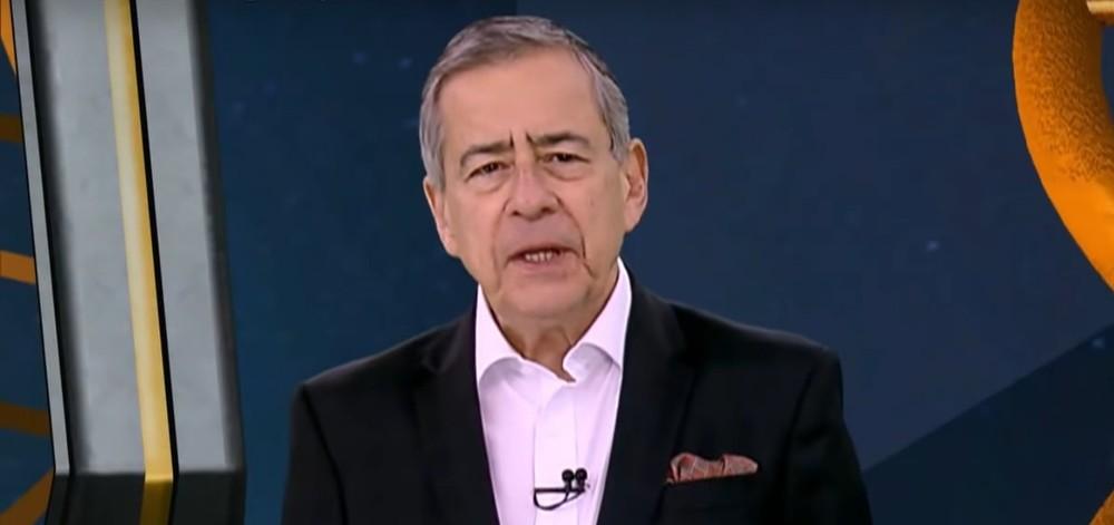 O jornalista Paulo Henrique Amorim era crítico do presidente Jair Bolsonaro (Reprodução)