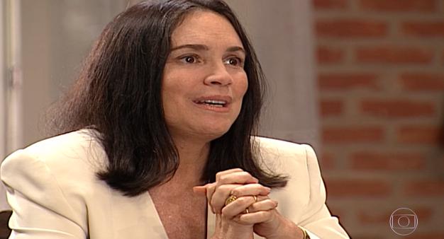 Regina Duarte (Helena) em cena da novela Por Amor, que teve mais audiência que Malhação (Foto: Reprodução/Globo)