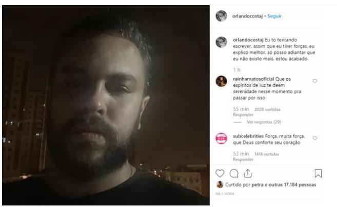 Ex-noivo da blogueira Alinne Araújo desabafou sobre o ocorrido (Reprodução: Instagram)