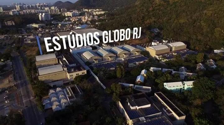 Globo constrói novo complexo de estúdios. (Foto: Reprodução)