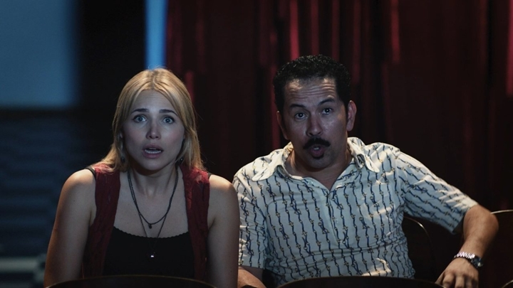 Letícia Colin e Edmilson Filho protagonizam Cine Holliúdy na Globo. (Foto: Divulgação)
