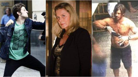 Chay Suede, Vera Fischer e Dado Dolabella já estiveram envolvidos em polêmicas nos bastidores das novelas. (Foto: Montagem/Reprodução)