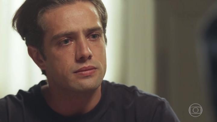 Rafael Cardoso em cena de Espelho da Vida. (Foto: Reprodução/TV Globo)