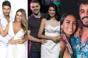 Finalistas do Power Couple Brasil 4, da Record. (Foto: Reprodução/Montagem