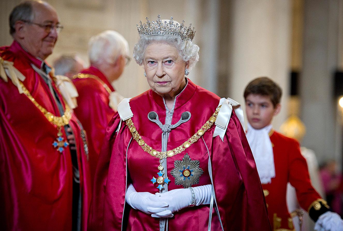 Rainha Elizabeth II teve sua casa invadida (Foto: Reprodução)
