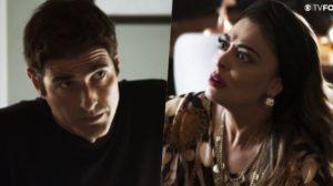 Régis e Maria da Paz brigarão na Globo e romperão em A Dona do Pedaço