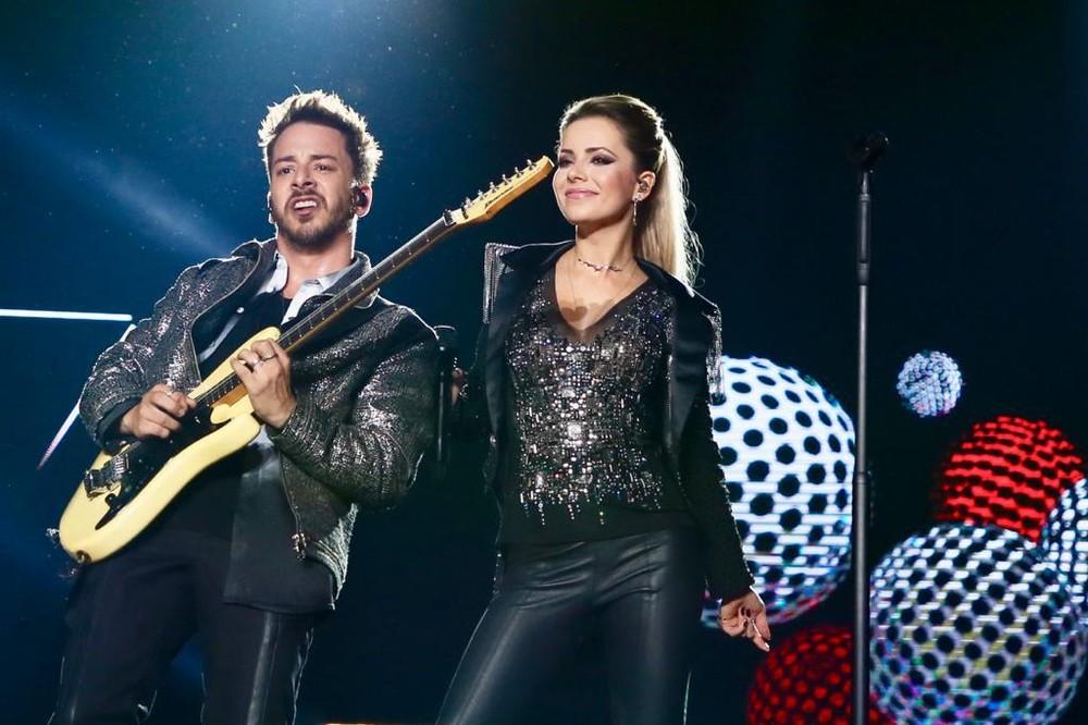 """Sandy e Junior estão atualmente """"em cartaz"""" com a turnê Nossa História (Foto: Divulgação/Manuela Scarpa)"""