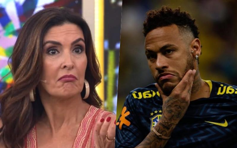 """Neymar é humilhado no Encontro com Fátima Bernardes por Casagrande da Globo que dispara: """"chacota"""" Foto: Reprodução"""