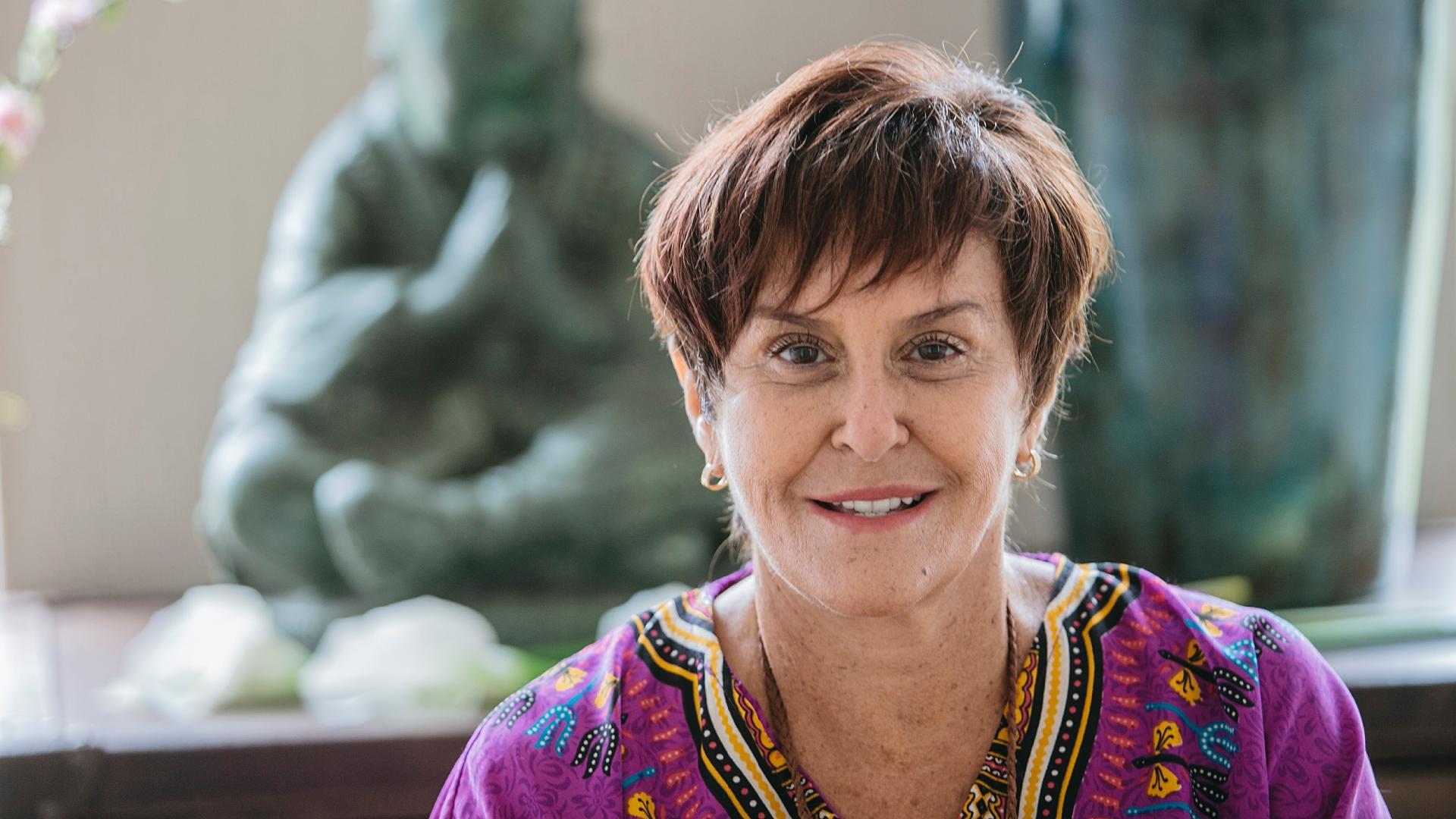 A sensitiva Marcia Fernandes (Foto: Divulgação)