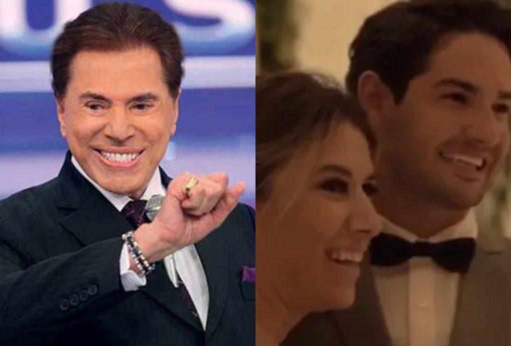 Silvio Santos do SBT foi fundamental no casamento de Rebeca Abravanel com Alexandre Pato