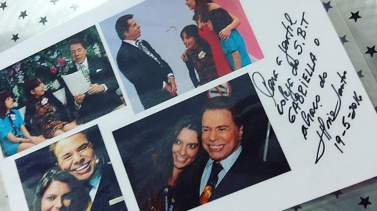 conheceu Silvio Santos quando era criança e hoje trabalha para ele (Arquivo Pessoal)