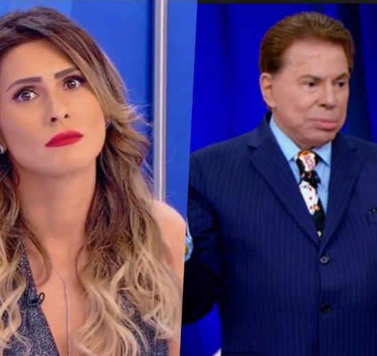 Silvio Santos e Lívia Andrade roubaram a cena no Jogo dos Pontinhos do SBT