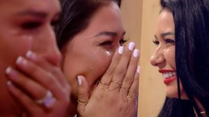 Simone e Simaria se debulharam em lágrimas no Tamanho Família da Globo (Foto reprodução)