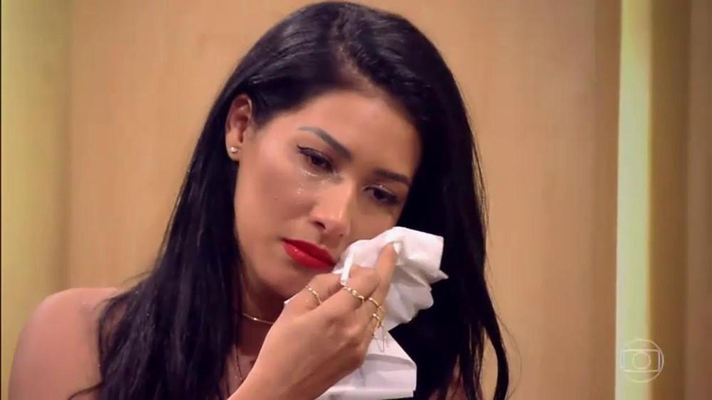Simaria relembrou descoberta de doença que a afastou dos palcos com Simaria (Foto: Reprodução/Globo)