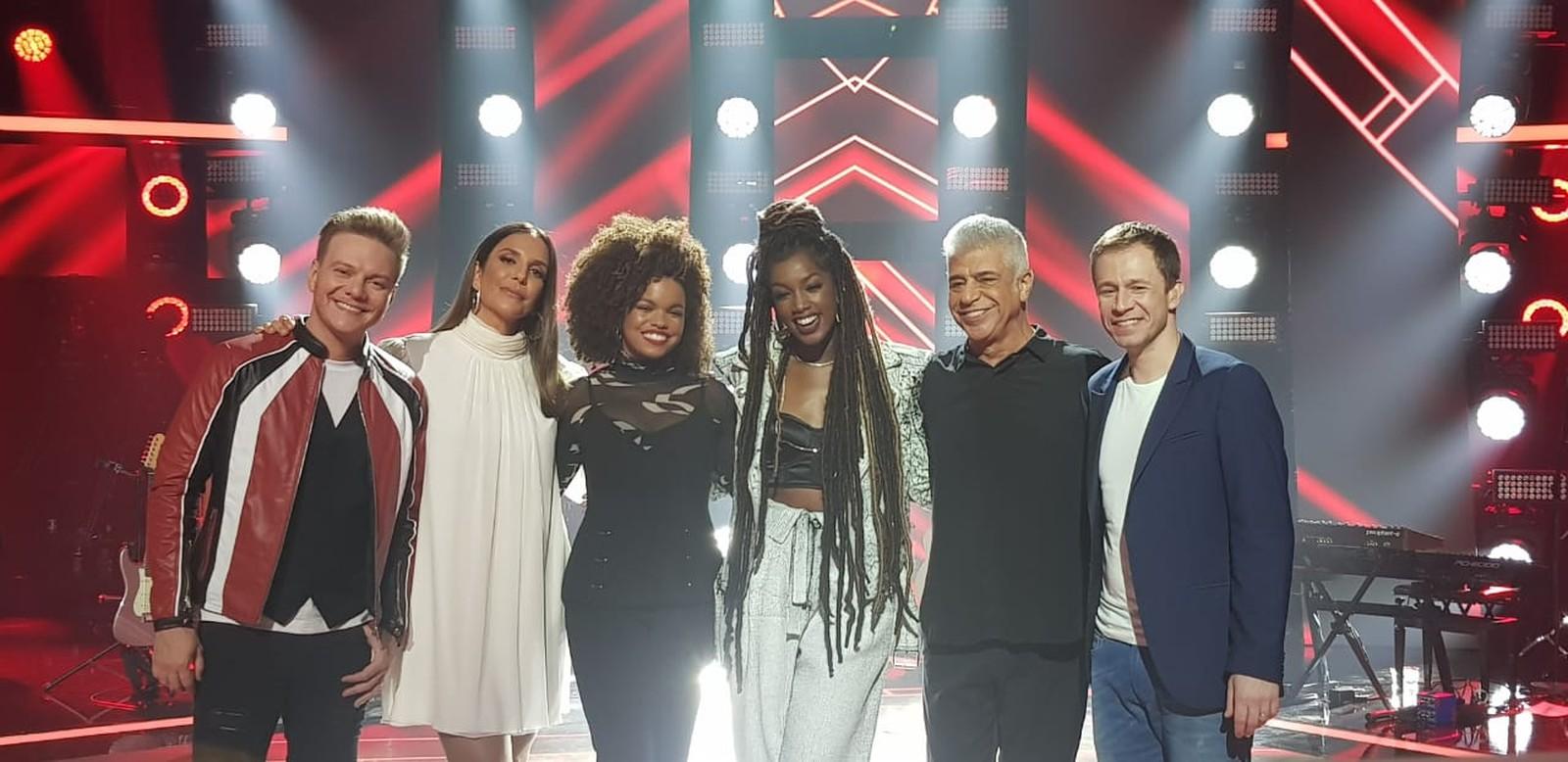 TThe Voice Brasil': confira tudo o que rolou no lançamento da 8ª temporada do reality! — (Foto: Analice Paron/Gshow)