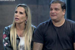 Taty Zatto e Marcelo Braga são eliminados do Power Couple Brasil (Foto: Reprodução)