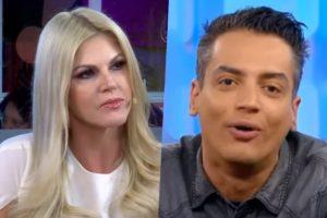 O jornalista do SBT, Leo Dias está sendo processado pela apresentadora do Tricotando da RedeTV!, Val Marchiori (Foto montagem: TV Foco)