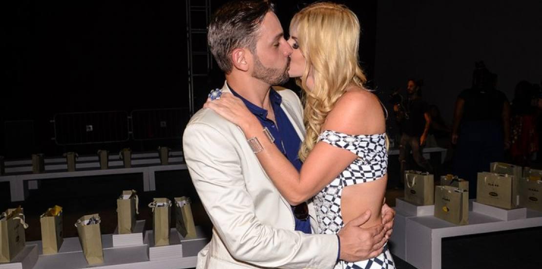 O relacionamento de Val Marchiori e Thiago Castilho não agradou o ex da apresentadora que enviou uma carta para o Fofocalizando Foto: Reprodução
