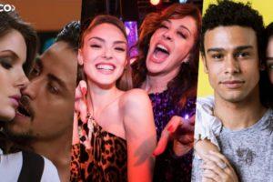 Camila Queiroz, Jesuita Barbosa, Isabelle Drummond, Claudia Raia, Sergio Malheiros e Larissa Moschen fazem parte do sucesso de Verão 90 da Globo