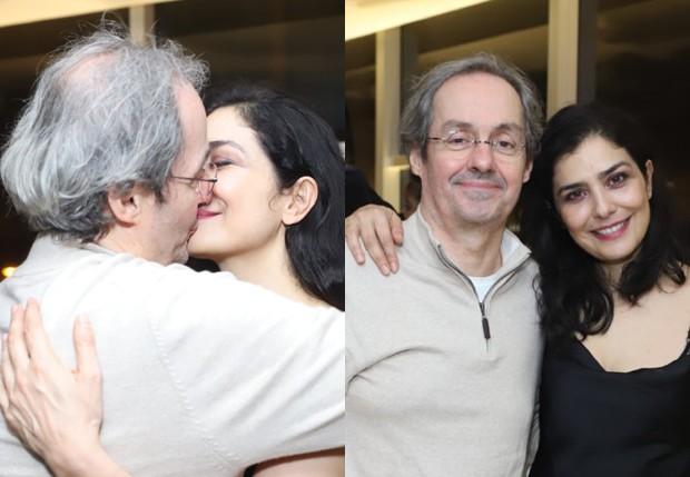 Letícia Sabatella e Daniel Dantas assumiram o namoro (Foto: AgNews)