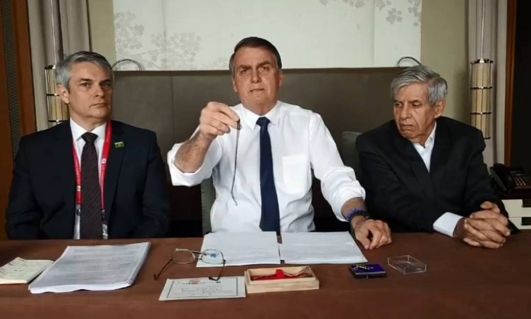 O presidente Jair Bolsonaro foi novamente alvo no Isso a Globo Não Mostra (Foto: Reprodução)