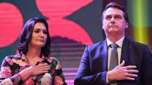 Michelle Bolsonaro, esposa do presidente da República Jair Bolsonaro (Foto: Reprodução/ Instagram)