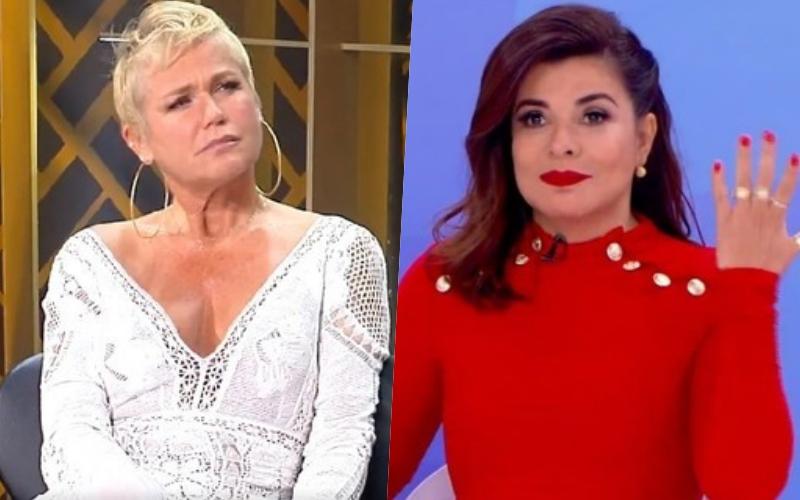 """Mara Maravilha defende ex-paquita esnobada por Xuxa e dispara contra apresentadora: """"cremos nessa maior promessa"""" Foto: Reprodução"""