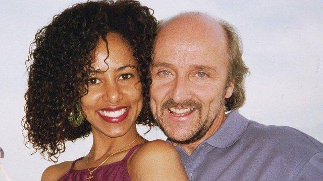Valéria Valenssa e Hans Donner se conheceram na gravação da icônica vinheta da TV Globo (Foto: Divulgação)