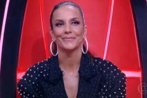 Ivete Sangalo no The Voice Brasil, ontem (06): reality bateu recorde de audiência (Foto: Reprodução/Globo)