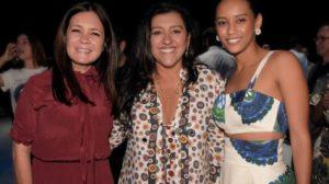 Adriana Esteves, Regina Casé e Taís Araújo são as protagonistas da novela Amor de Mãe, próxima das nove da Globo, substituta de A Dona do Pedaço. Foto: Reprodução/Instagram)