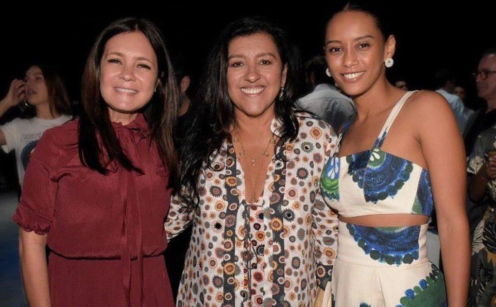 Adriana Esteves, Regina Casé e Taís Araújo são as protagonistas de Amor de Mãe, próxima novela das nove da Globo (Foto: Reprodução/Instagram)