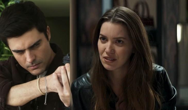 Leandro vai ameaçar Fabiana em A Dona do Pedaço (Foto: Reprodução/Globo)