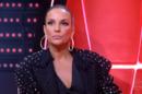 Ivete Sangalo no The Voice Brasil de ontem (15), que teve audiência recorde (Foto: Reprodução/Globo)