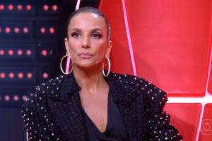 Ivete Sangalo passou vergonha no The Voice Brasil (Foto: Reprodução/Globo)