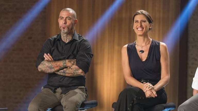 Paola Carosella e Henrique Fogaça, jurados do Masterchef, reality da Band, terão programas solo em 2020 (Foto: Divulgação)