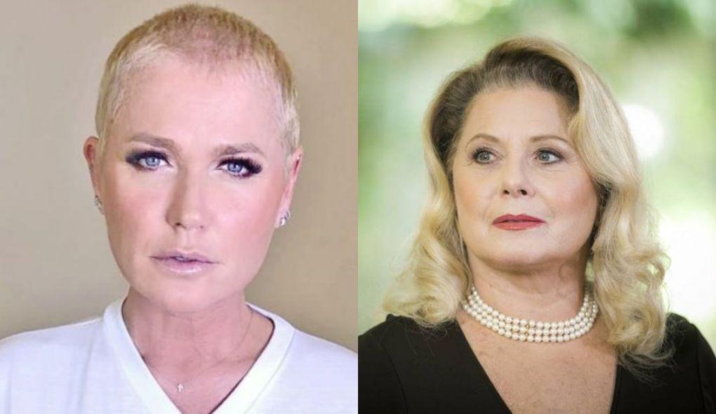 Xuxa e Vera Fischer atuaram no mesmo filme (Foto: Montagem/TV Foco)