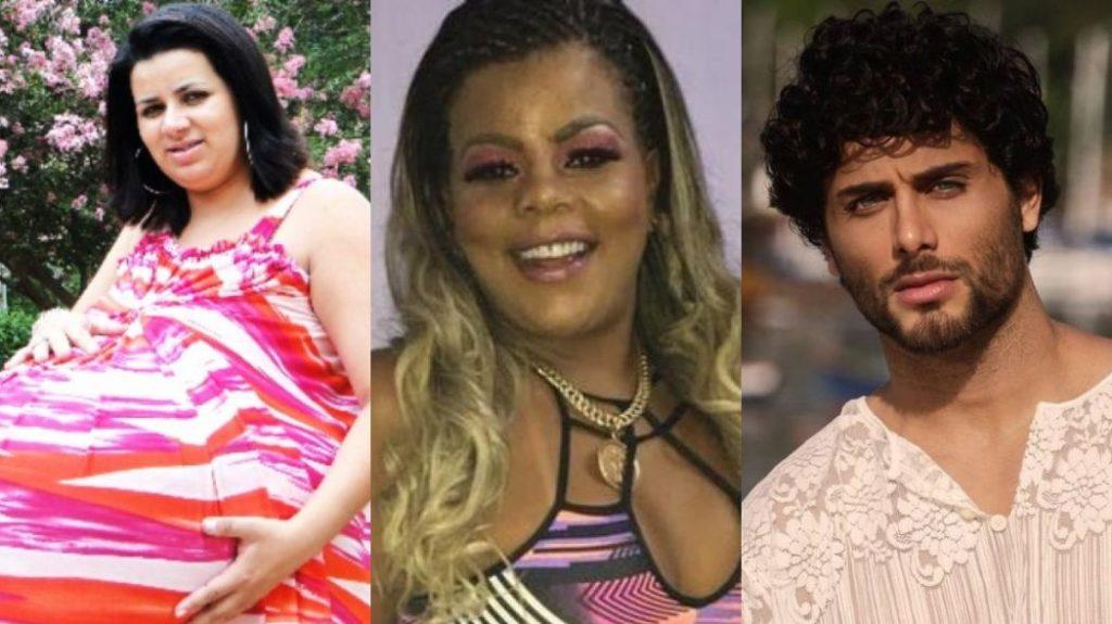 Grávida de Taubaté, Tati Quebra-Barraco e Jesus Luz são participantes cotados para reality da Record TV A Fazenda 11 (Foto: Montagem/TV Foco)