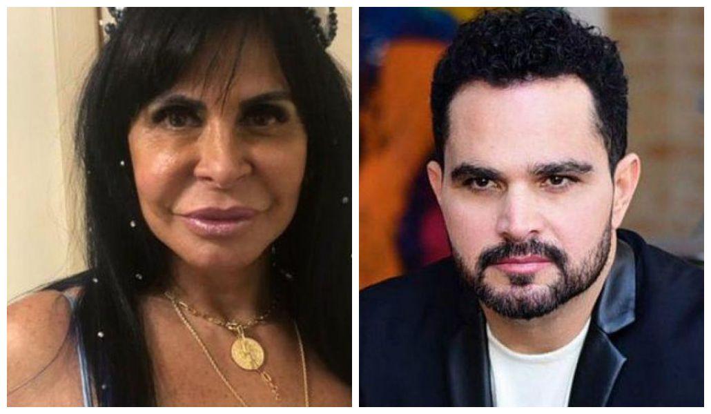 A ex-mulher do cantor Luciano, Cléo Loyola, resolveu atacar Gretchen (Foto: Reprodução/ Montagem TV Foco)