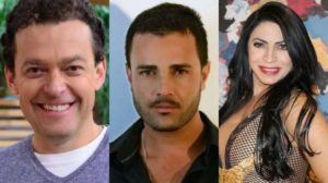 Fernando Rocha, Rodrigo Phavanello e Sylvia Design (Foto: Montagem: TV Foco)
