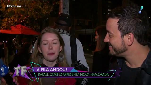 Ex-contratado da Globo, Rafael Cortez, foi exposto pela namorada