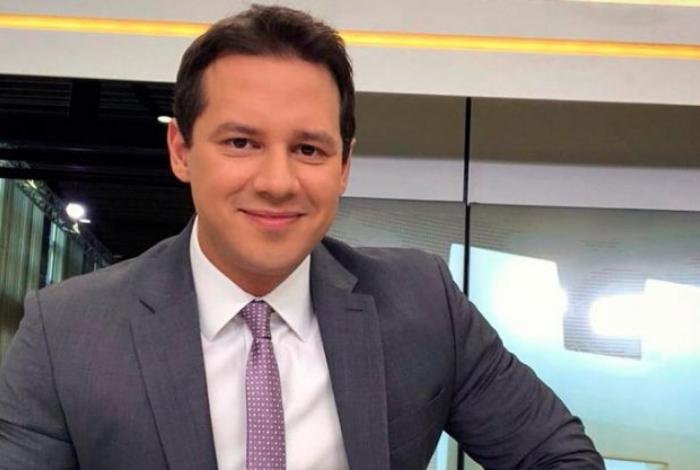 O jornalista Dony de Nuccio pediu demissão da Globo, local que apresentava o Jornal Hoje (Foto: Reprodução)