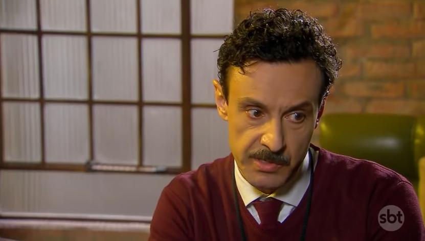 Lindomar (Ivan Parente) em cena na novela As Aventuras de Poliana, do SBT. (Foto: Reprodução)