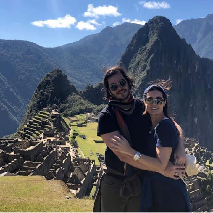 Fátima Bernardes e Túlio Gadêlha conhecendo Machu Picchu - Foto: reprodução/Instagram