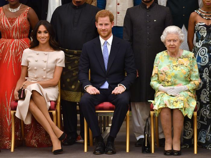 Rainha Elizabeth proibe Meghan Markle e príncipe Harry de morarem no palácio(Foto: Reprodução)