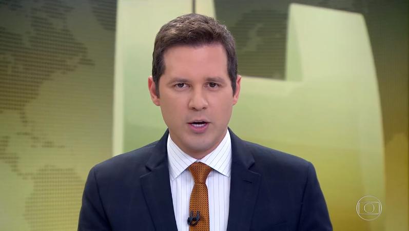 Dony de Nuccio teve imagem retirada pela Globo de todas as suas áreas após deixar o Jornal Hoje (Foto: Reprodução/Globo)