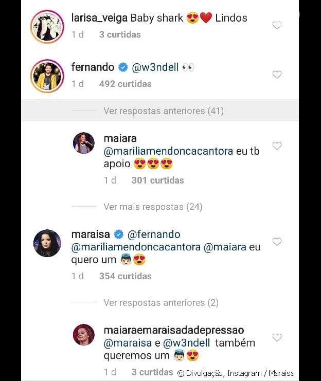 Maraisa reconciliou o namoro com Wendell Vieira e Fernando entregou tudo