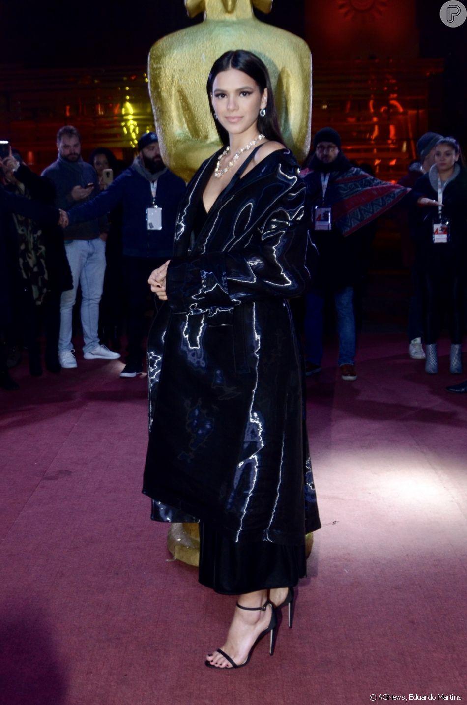 Bruna Marquezine no Festival de Cinema de Gramado. Foto: Reprodução