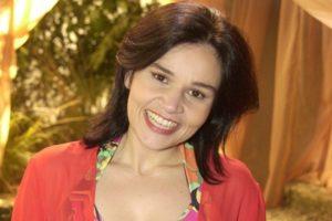 Cláudia Rodrigues está internada em hospital após passar mal (Foto: Reprodução)
