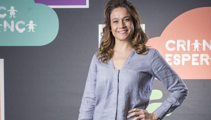Fernanda Gentil no Criança Esperança 2019 (Foto: Globo/João Cotta)
